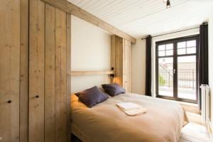 slaapkamer met terras