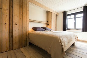 slaapkamer kingsize bed