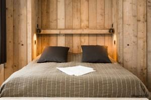 Slaapkamer vakantiehuisje aan zee ZaligAanZee.be