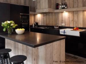 Cuisine Location de Maison de Vacances Pannenstraat 104 | ZaligAanZee.be