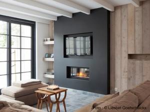 Living de la maison à louer côte belge Pannenstraat 104 | ZaligAanZee.be