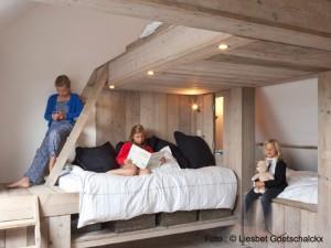 Slaapzolder Vakantiehuis voor 12 tot 14 personen Pannenstraat 104 | ZaligAanZee.be