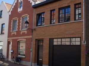 Voorgevel vakantiehuis voor 12 tot 14 personen Pannenstraat 104 | ZaligAanZee.be