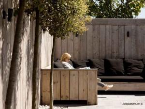 loungehoek vakantiehuis 8 tot 10 personen Pannenstraat 246| Zaligaanzee