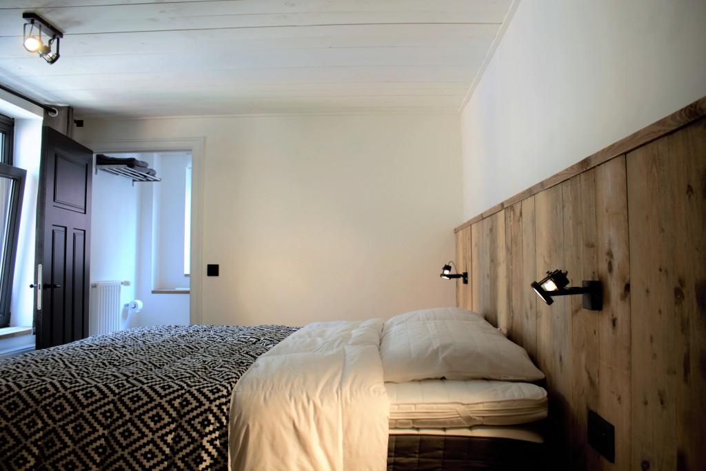Eén van de slaapkamers in vakantiewoning Blankenberge tot 20 personen | ZaligAanZee.be