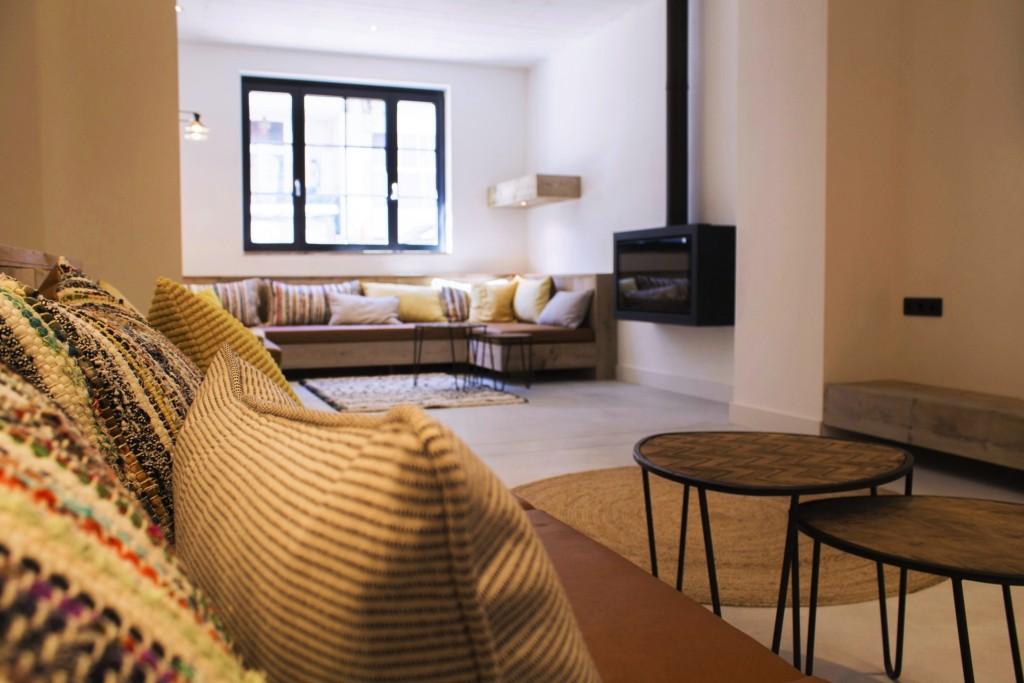 Gashaard in Leefruimte voor 20 personen vakantiewoning Blankenberge | ZaligAanZee.be