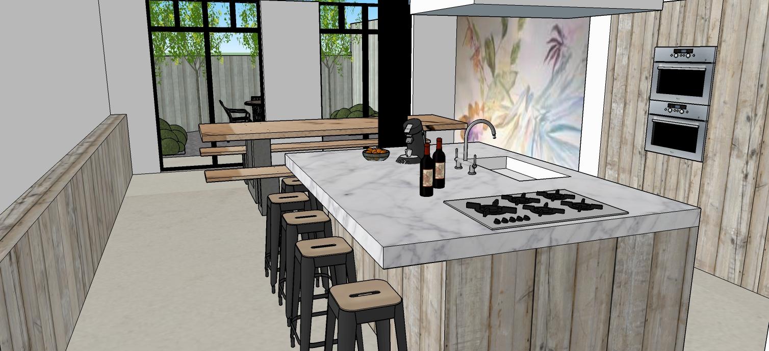Keuken Te Huur : Vakantiewoning Blankenberge te huur 10 tot 18 ...
