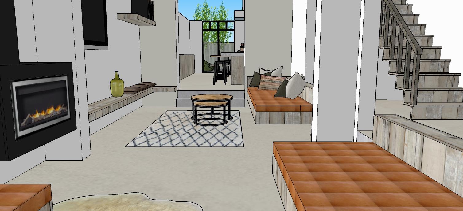 Keuken Te Huur : ... op de zitput van het vakantiehuis te Blankenberge ...