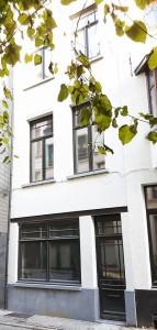 Gevel vakantiehuis Antwerpen Leeuwenstraat 9 | ZaligAanZee.be